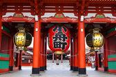 Hozomon Gate at Sensoji Asakusa Temple — Stock Photo