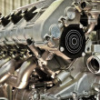 Foto de Stock  : Automobile engine