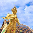 Photo: Demon Guardiat Wat PhrKaew, Temple of Emerald Buddha, B