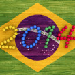 World Cup 2014 — Stock Photo