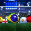 world cup 2014 — Stock Photo #29144309