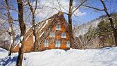 Cottage at Ogimachi Village in Shirakawago — Stock Photo