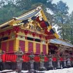 Toshogu Shrine in Winter, Nikko, Japan — Stock Photo