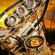 Motorcycle Gauge — Stockfoto