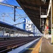Stock Photo: Empty Shinkansen Platform