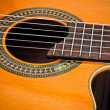 Stock Photo: Cutaway Classical Acoustic Guitar