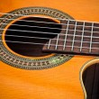 Cutaway Classical Acoustic Guitar — Stock Photo