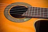 Cutaway Classical Acoustic Guitar — Stock Photo