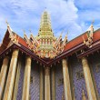 Prasat Phra Thep Bidon (Royal Pantheon) in Wat Phra Kaew Area — Foto Stock