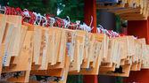 Ema - japanischen wunsch platten — Stockfoto