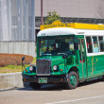 Kanazawa Loop Bus — Stock Photo