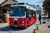 Kanazawa βρόχο λεωφορείο — Φωτογραφία Αρχείου