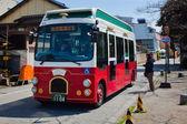 Kanazawa döngü otobüs — Stok fotoğraf