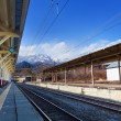 Nikko train station in Nikko — Stock Photo