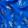 Stock Photo: Blue Silk