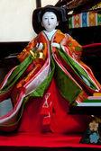 Japanese Hina Doll — Stock Photo