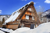 Cottage at Ogimachi Village in Shirakawago — Stock Photo
