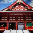 Stock Photo: Pediment on Side Of Sensoji AsakusTemple