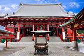 Sensoji Asakusa Temple, Tokyo, Japan — Stock Photo