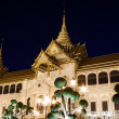 The Chakri Maha Prasat Throne Hall in The Middle Court of Grand Palace of Thailand — Stockfoto