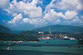 货运船舶在普吉岛 — 图库照片
