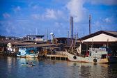 Fishing Boats at Phuket island — 图库照片