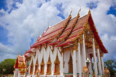Thai Temple at Wat Chalong in Phuket — Stock Photo