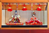 Japanische hina-puppen — Stockfoto