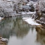Miyagawa River Surrounded with Snow — Stock Photo #31534639