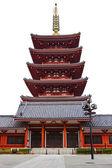 Pagoda at Sensoji Asakusa Temple — Stock Photo