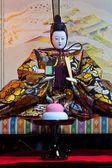 японский император куклы хина — Стоковое фото