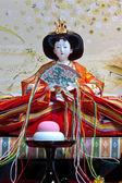 Japanese Empress Hina Doll — Stock Photo