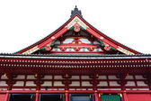 Pediment on the Side Of Sensoji Asakusa Temple — Stock Photo