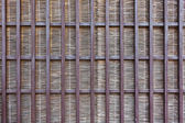 Japanese bamboo partition — Stock Photo