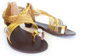 Golden Shoes — Stock Photo