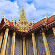 Prasat Phra Thep Bidon (Royal Pantheon) in Wat Phra Kaew Area — Stock Photo