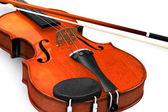 孤立したヴァイオリン — ストック写真