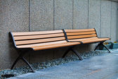 Empty Benches — Stock Photo