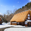 Cottage at the Ogimachi Village in Shirakawago — Stock Photo