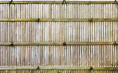 Japanese Bamboo Fence — Stock Photo