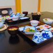 Set of Japanese Traditional Full Course Meal — Stock Photo
