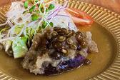Mushroom salade — Stockfoto