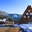 Ogimachi Village in Shirakawago — Foto Stock
