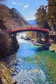 Shinkyo (Sacred Bridge) in Nikko — Foto de Stock