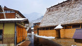 Ogimachi village in Shirakawago — Стоковое фото
