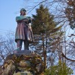Itagaki Taisuke statue in Nikko, Japan — Stockfoto