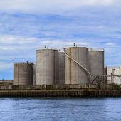 Petroleum Storage Tanks — Stock Photo