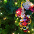 Ornaments on a Christmas Tree — Stock Photo