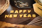 Feliz ano novo — Fotografia Stock