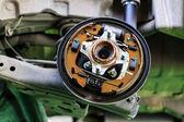 Drum brake of a car — Foto de Stock